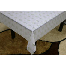 Printed pvc lincraft lace tablecloth by roll